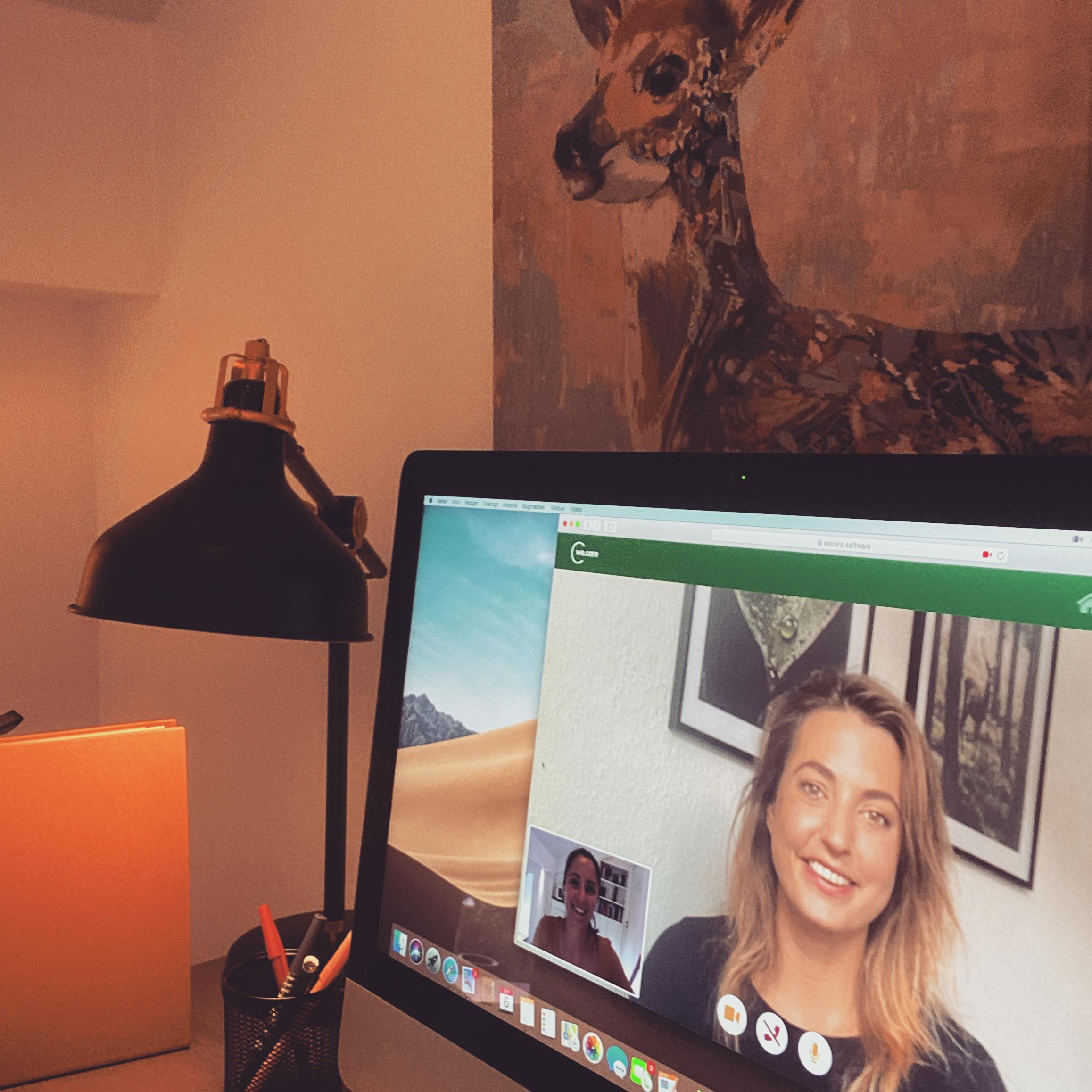 online terapi via videokonsultation ved autoriseret psykolog